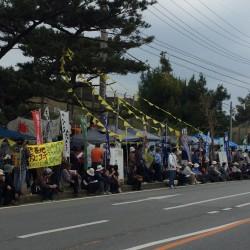 女性暴行抗議集会